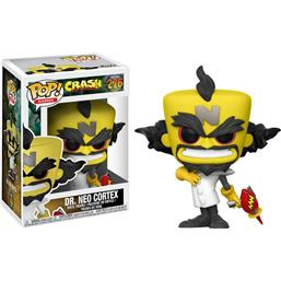 Crash Bandicoot: Neo Cortex POP! Games Vinyl Figur (#276)