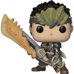 Monster Hunter: Male Hunter POP! Games Vinyl Figur (#296)