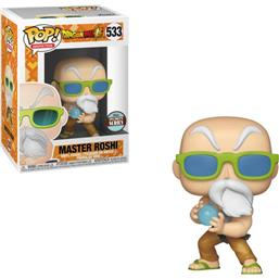 Master Roshi (Max Power) POP! Animation Vinyl Figur Speciality Series (#533)