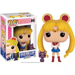 Sailor Moon: Sailor Moon & Luna POP! Animation Vinyl Figur (#89)