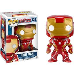 Iron Man POP! Vinyl Bobble-Head Figur (#126)