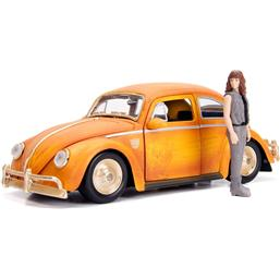 Transformers: Transformers Bumblebee Diecast Model 1/24 Volkswagen Beetle with Figure