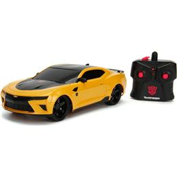 Transformers: Transformers The Last Knight RC Car 1/16 2016 Chevy Camaro Bumblebee