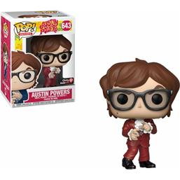 Austin Powers: Austin Powers Red Suit POP! Movies Vinyl Figur (#643)