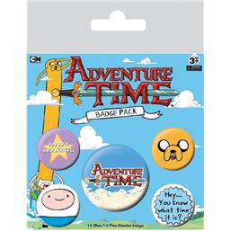 Adventure Time: Adventure Time Badges