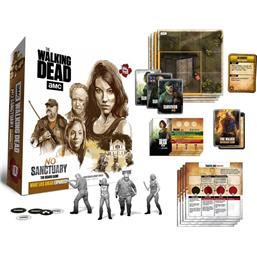 Walking Dead: Walking Dead Board Game Expansion No Sanctuary: What Lies Ahead *English Version*