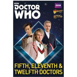 Doctor Who: Doctor Who Exterminate! Expansion 5th, 11th and 12th Doctors *English Version*
