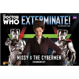 Doctor Who Exterminate! Expansion Missy & The Cybermen *English Version*