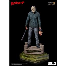 Friday The 13th: Friday the 13th Deluxe Art Scale Statue 1/10 Jason 25 cm