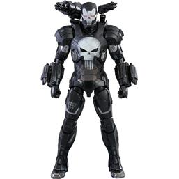 Marvel: Marvel Future Fight Video Game Masterpiece Action Figure 1/6 The Punisher War Machine Armor 32 cm