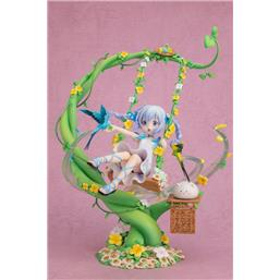 Is the Order a Rabbit: Is the Order a Rabbit? PVC Statue 1/7 Chino Flower Swing 29 cm