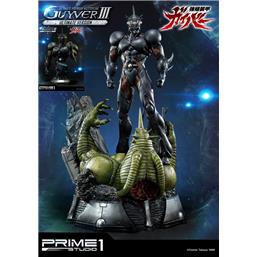 Guyver - The Bioboosted Armor: Guyver The Bioboosted Armor Statue & Bust Guyver III Ultimate Edition Set