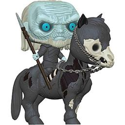 White Walker on Horse POP! Rides Vinyl Figur