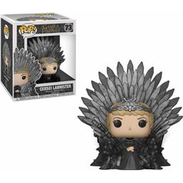 Cersei Lannister on Iron Throne POP! Deluxe Vinyl Figur (#73)