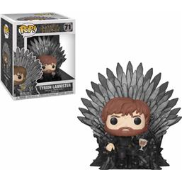 Tyrion Sitting on Iron Throne POP! Deluxe Vinyl Figur (#71)