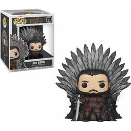 Jon Snow on Iron Throne POP! Deluxe Vinyl Figur (#72)