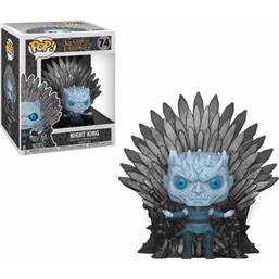 Night King on Iron Throne POP! Deluxe Vinyl Figur (#74)
