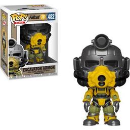 Fallout: Excavator Power Armor POP! Games Vinyl Figur (#482)