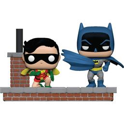Look Batman & Robin (1964) POP Moment! Vinyl Figursæt 2-Pak