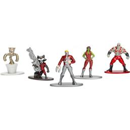 Guardians of the Galaxy Nano Metalfigs Diecast Figures 5-Pack 4 cm