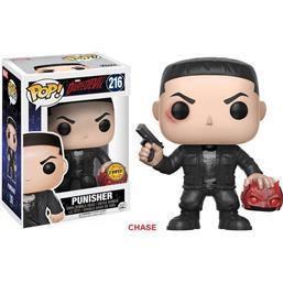 Daredevil: Punisher POP! Bobble-Head Vinyl Figur (#216) CHASE