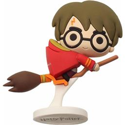 Harry Potter Pokis Rubber Minifigure Harry Potter Nimbus Red Cape 6 cm