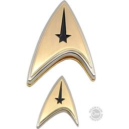 Star Trek: Star Trek Discovery Enterprise Badge & Pin Set Command
