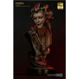 Diverse: Geisha Life-Size Bust by Akihito 81 cm