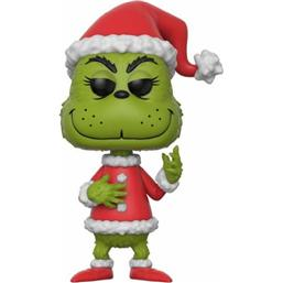 Grinch in Santa Outfit POP! Books Vinyl Figur (#12)