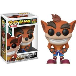 Crash Bandicoot: Crash Bandicoot POP! Games Vinyl Figur (#273)