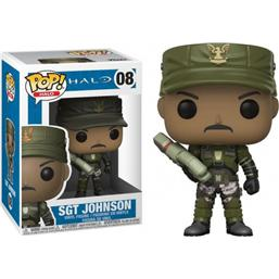 Sgt. Johnson POP! Games Vinyl Figur