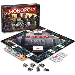 Mass Effect: Mass Effect Board Game Monopoly *English Version*