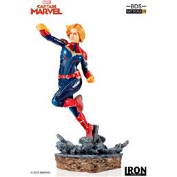Captain Marvel: Marvel Comics BDS Art Scale Statue 1/10 Captain Marvel 20 cm