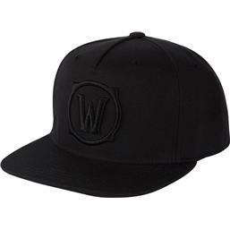 World Of Warcraft: Blackout Logo Cap