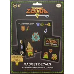Nintendo: Legend of Zelda Gadget Decals 8 Bit
