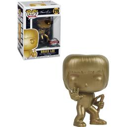 Bruce Lee Gold POP! Movies Vinyl Figur (#219)