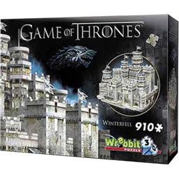 Game Of Thrones: Game of Thrones 3D Puzzle Winterfell