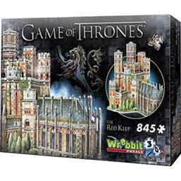 Game Of Thrones: Game of Thrones 3D Puzzle The Red Keep