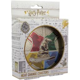 Sorting Hat Heat Change Coaster 4-Pack