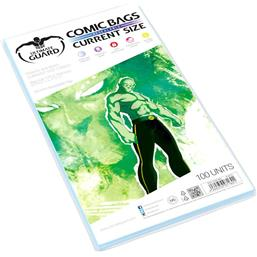 Diverse: Ultimate Guard Comic Bags Resealable Current Size (100)