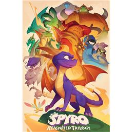 Spyro the Dragon Reignited Trilogy Plakat