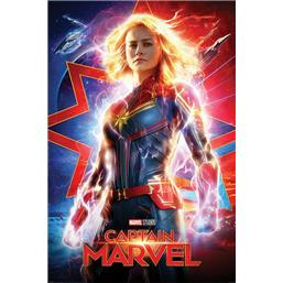 Captain Marvel: Higher - Further - Faster Plakat