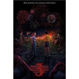 Stranger Things: One Summer Cant Change Everything Plakat