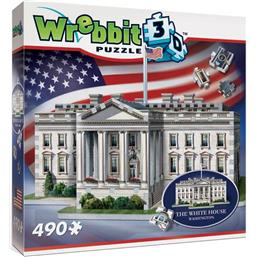 Byer og Bygninger: Wrebbit The Classics American Icons Collection 3D Puzzle The White House