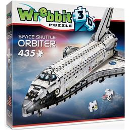 NASA: Wrebbit The Classics American Icons Collection 3D Puzzle Space Shuttle - Orbiter