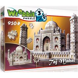Byer og Bygninger: Wrebbit The Classics Collection 3D Puzzle Taj Mahal