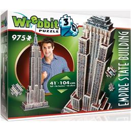 Byer og Bygninger: Wrebbit The Classics Collection 3D Puzzle Empire State Building