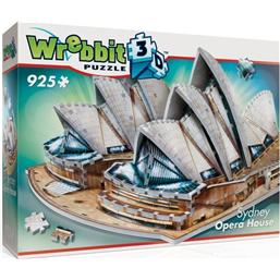 Byer og Bygninger: Wrebbit The Classics Collection 3D Puzzle Sydney Opera House