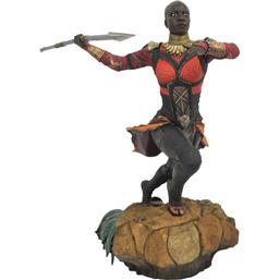 Black Panther: Black Panther Marvel Movie Gallery PVC Statue Okoye 23 cm