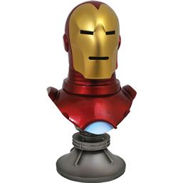 Iron Man: Marvel Comics Legends in 3D Bust 1/2 Iron Man 25 cm